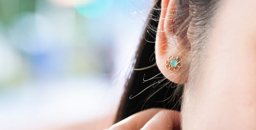 Fiore Ear Studs