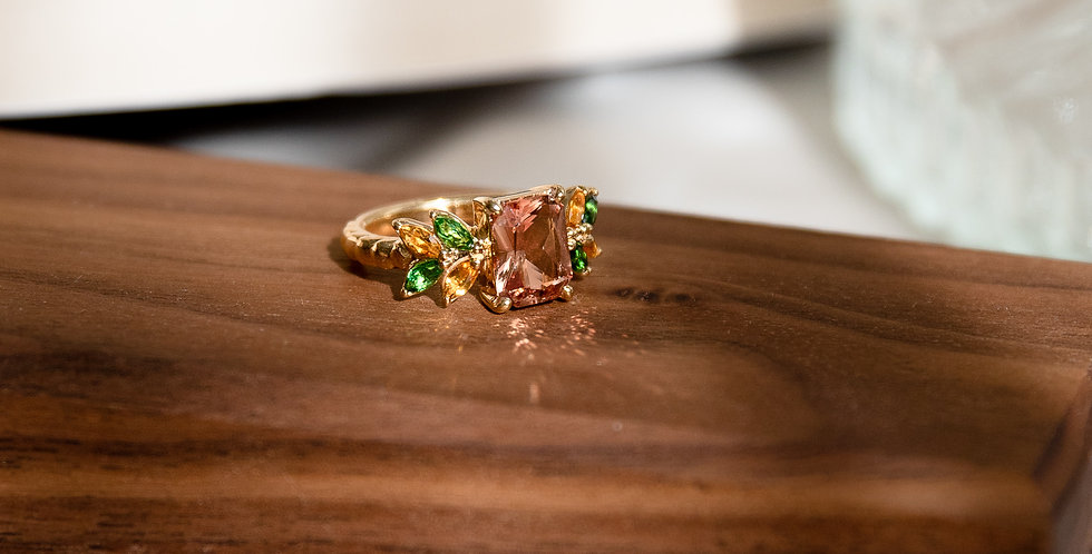 One of a Kind - Sunstone Ring