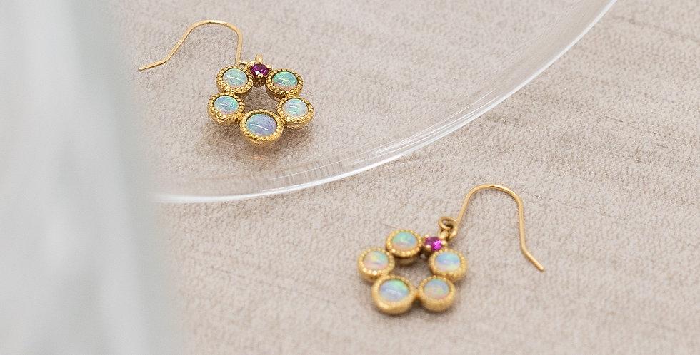 Antique Opal Earrings