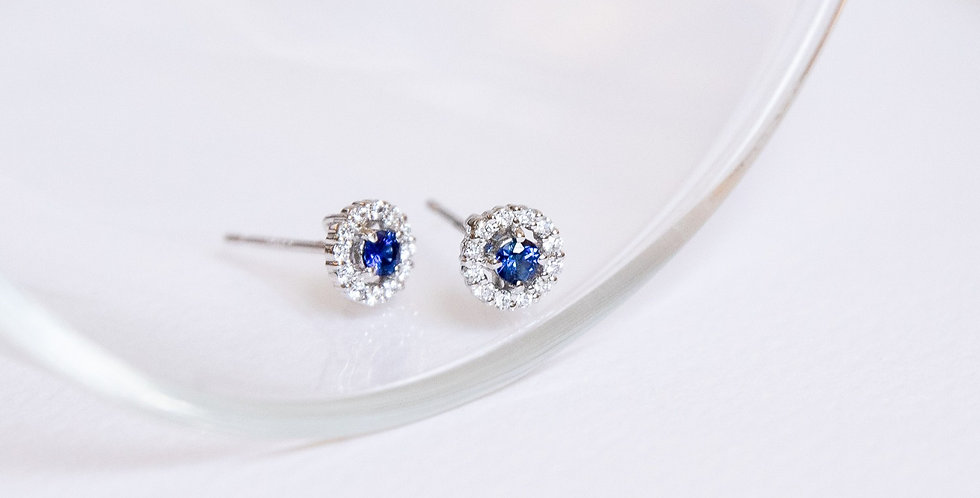 Birthstone Ear Studs