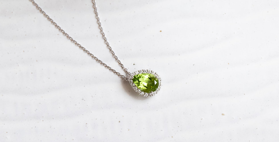 PS Peridot Necklace