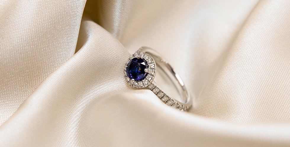 Sapphire RD Ring