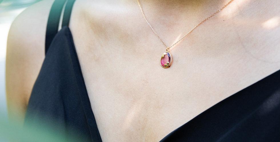 Eucalyptus Necklace