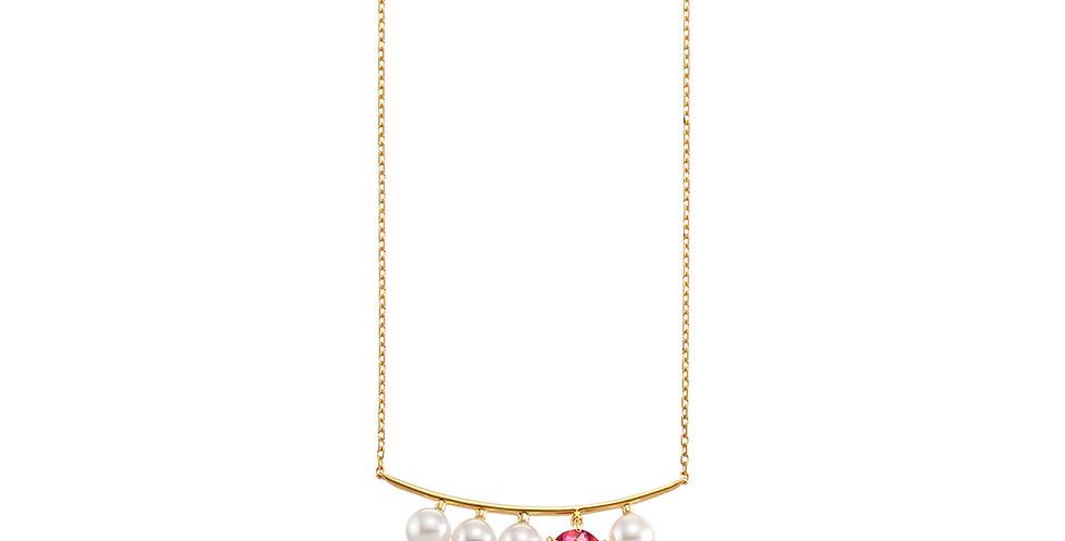 and Pearl Necklace - Row