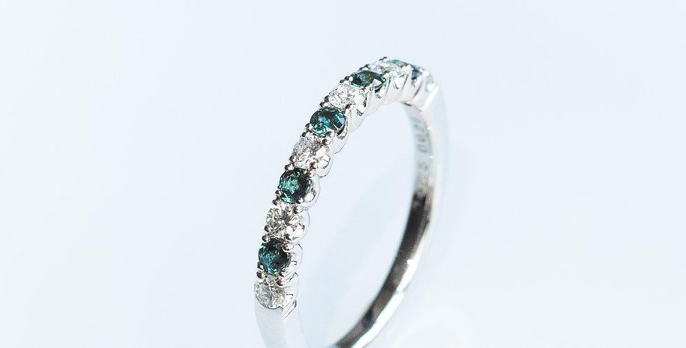 Alexandrite Band Ring