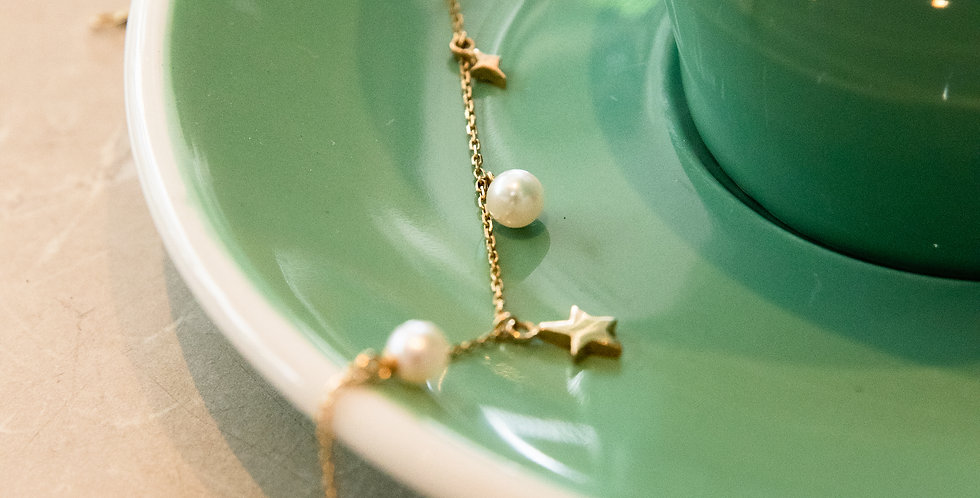 Poetic Pearl Bracelet - Star