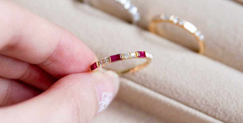 Baguette Band Ring