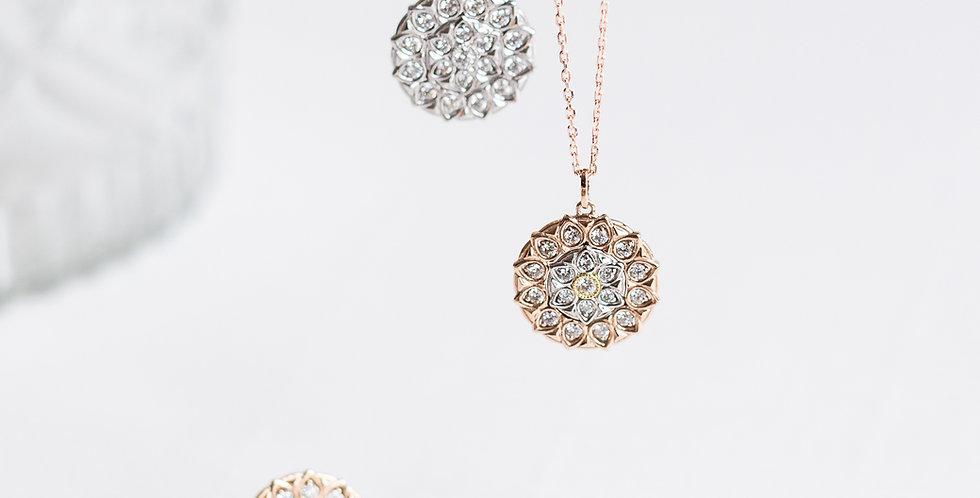 Medallion Diamond Necklace
