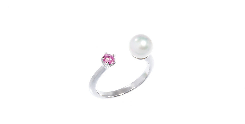 and Pearl Ring - Petit