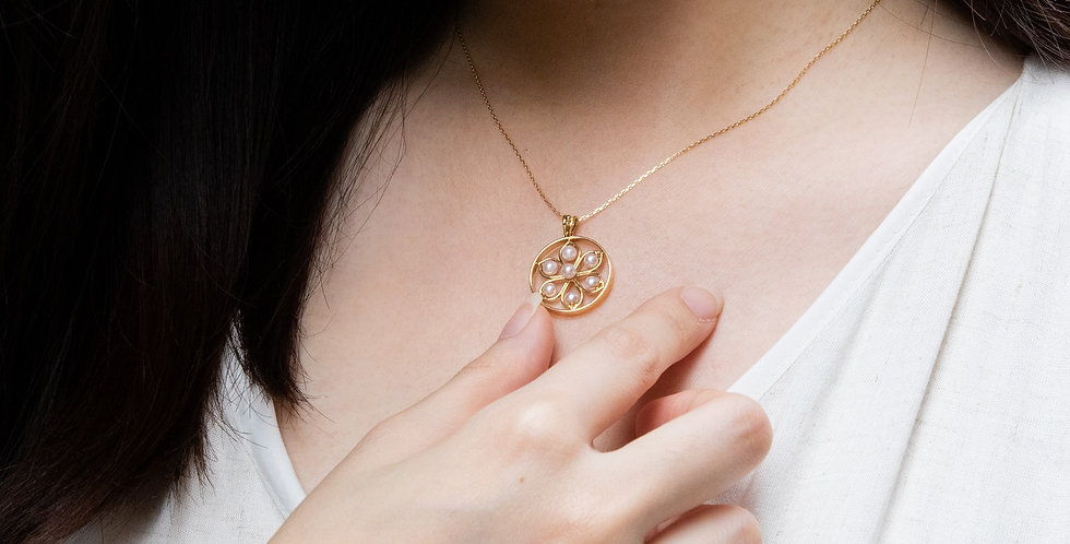 Rosette Necklace (Large)