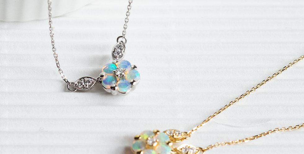 Opal Coordinate Necklace