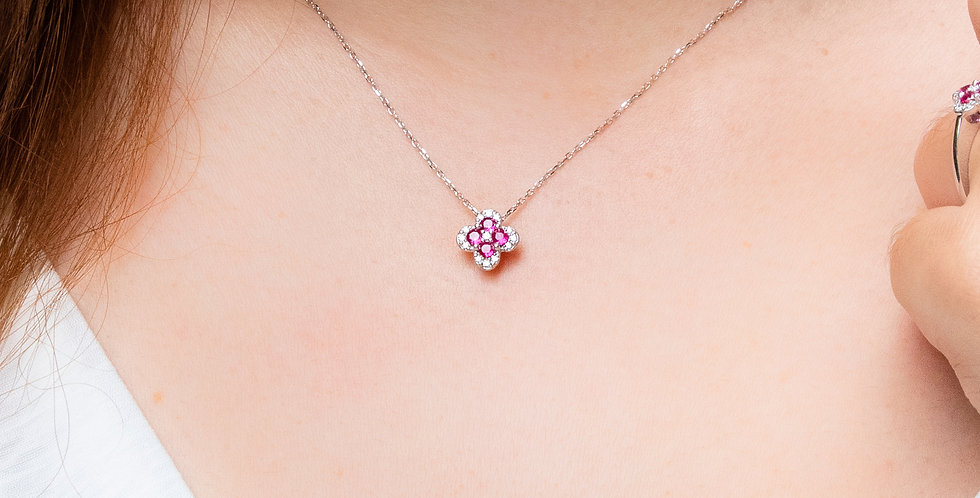 Flower Birthday Necklace
