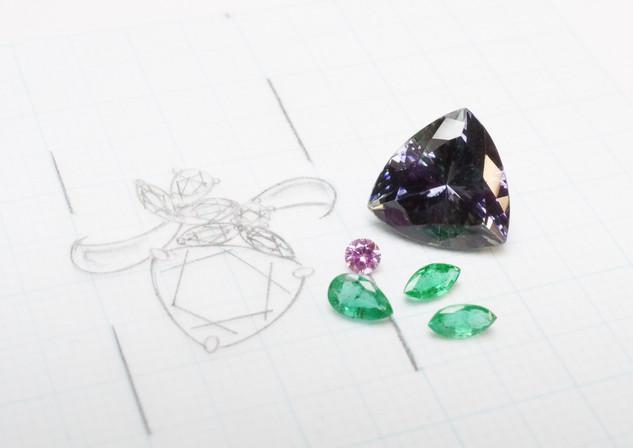 Assembling the stones