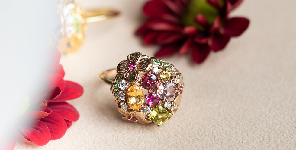 BonBon Fleur Ring - Bouquet