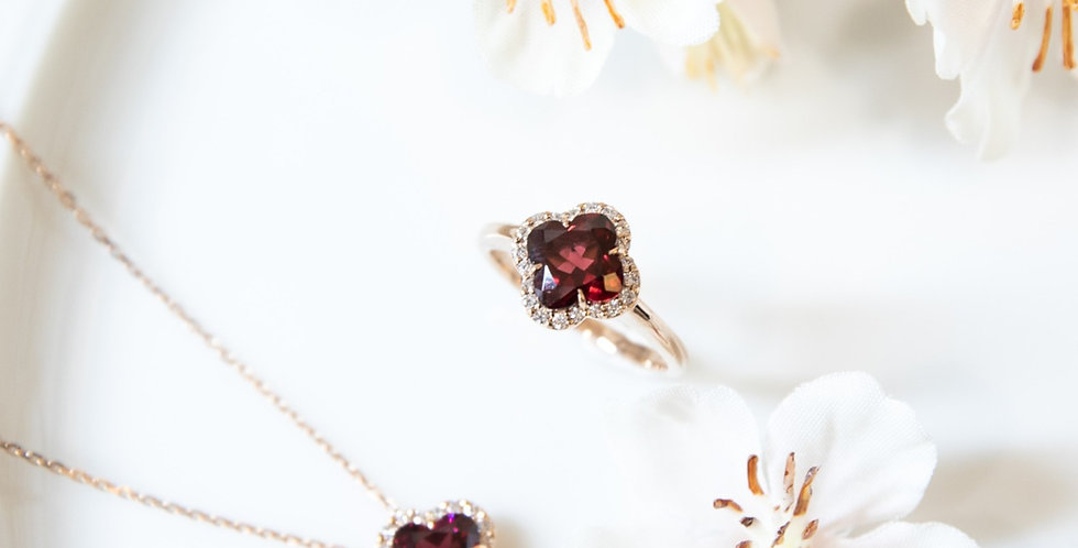 Flower Cut Ring