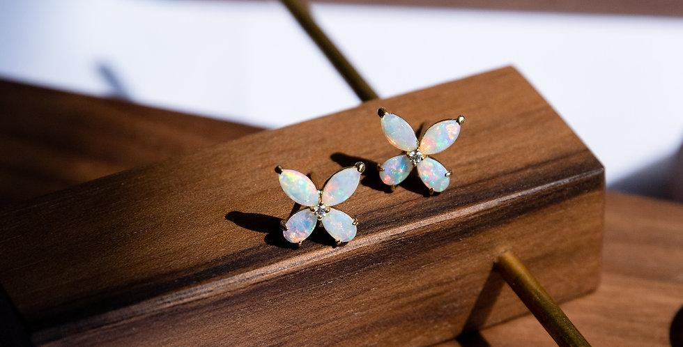 Opal Coordinate Ear Studs