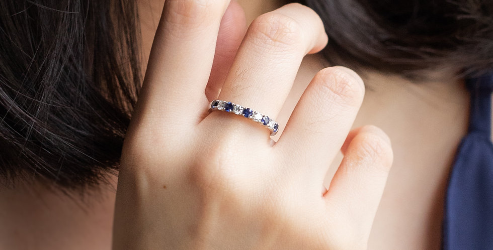 Classic Sapphire Band Ring