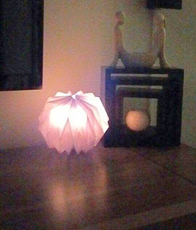 Lampe à papier à poser