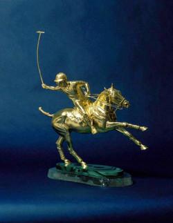 Golden Polo Pony