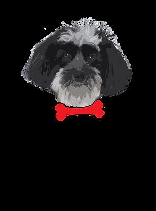 Logo red dog bone.png