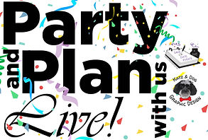 Party and Plan logo Housewives style 2-0