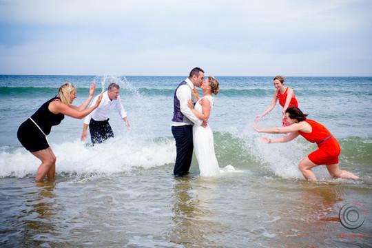 photo de mariage plage