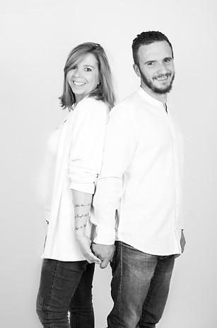 couple noir et blanc armentières