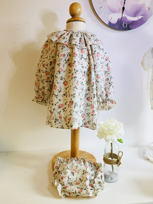 Ensemble robe et  bloomer