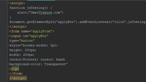 Format Custom Javascript Buttons the Easy Way - MicroStrategy