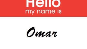 My name is Omar and I'm a data enthusiast