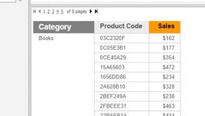 Format a Single Dossier Column Header Method 2 - MicroStrategy