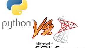 Python VS MS SQL: Race to the Flat File!