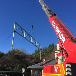 truss installation 3
