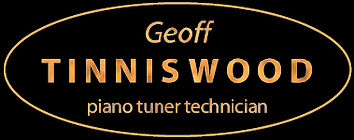 Geoff Tinniswood piano tuner technician