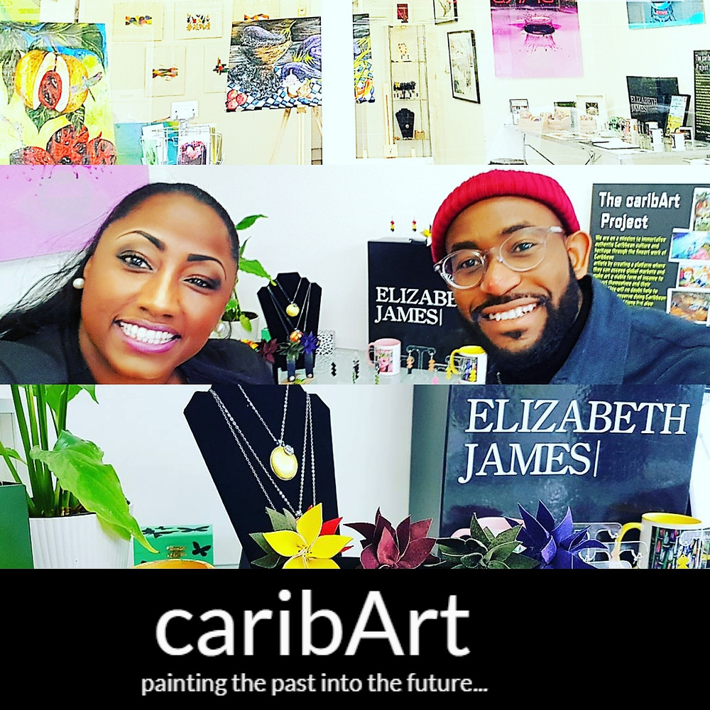 Layers Online Magazine interview with caribart