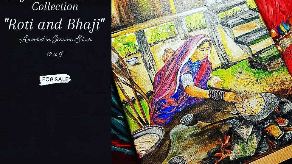Roti and Bhaji