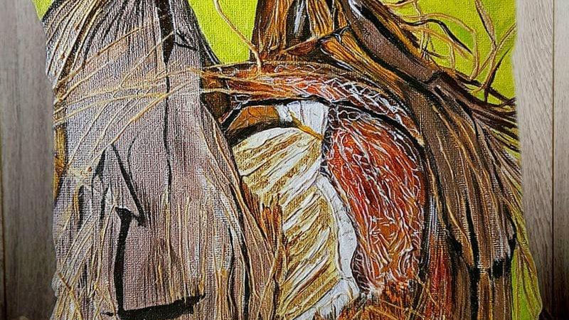 Coconut Bread PILLOW SLIP