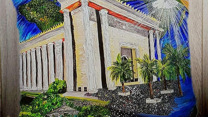 Temple of Solomon, Brazil PILLOW SLIP