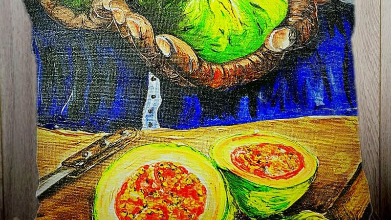 Cayenne Guava PILLOW SLIP