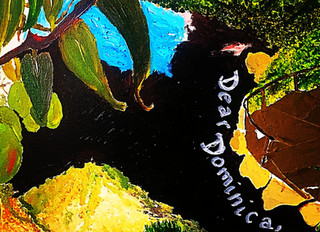A Love Letter to Dominica -Yasmin Nicholas Emerging Artist at the caribArt Exhibition LONDON 2018