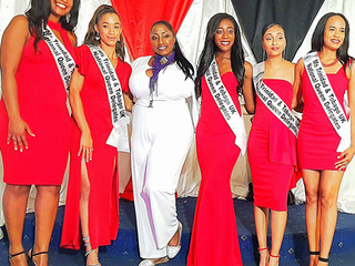 caribArt sponsors prizes at Carivog International Pageant...