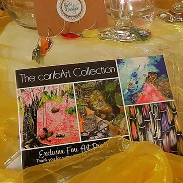 caribArt Postcards
