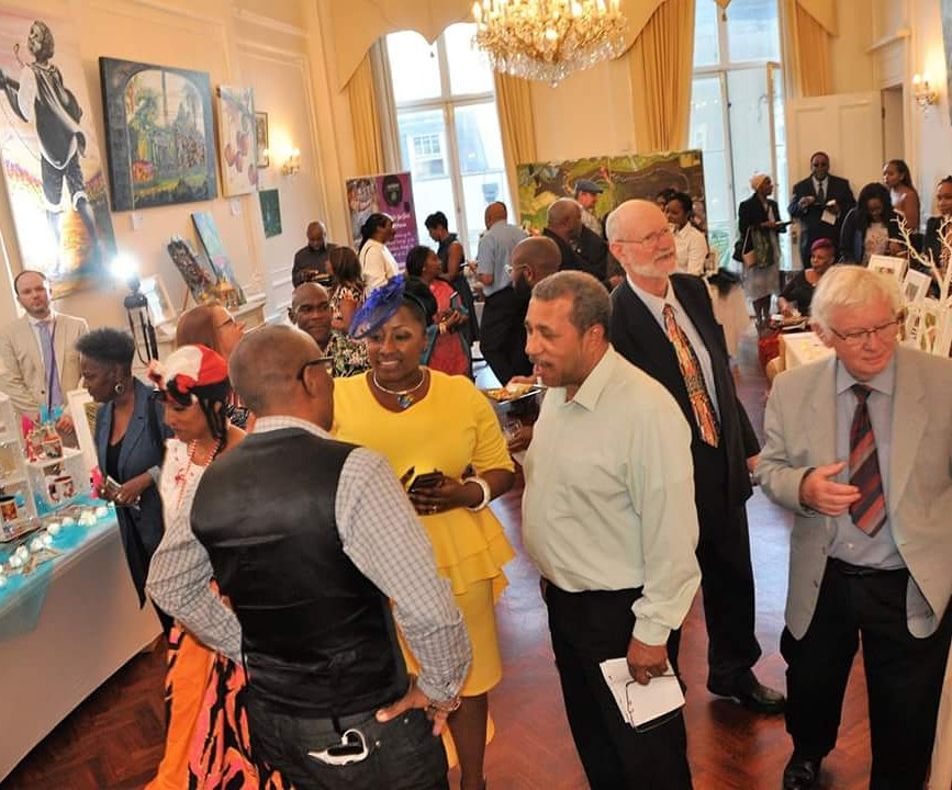 The caribArt Exhibition - My Sugar Island