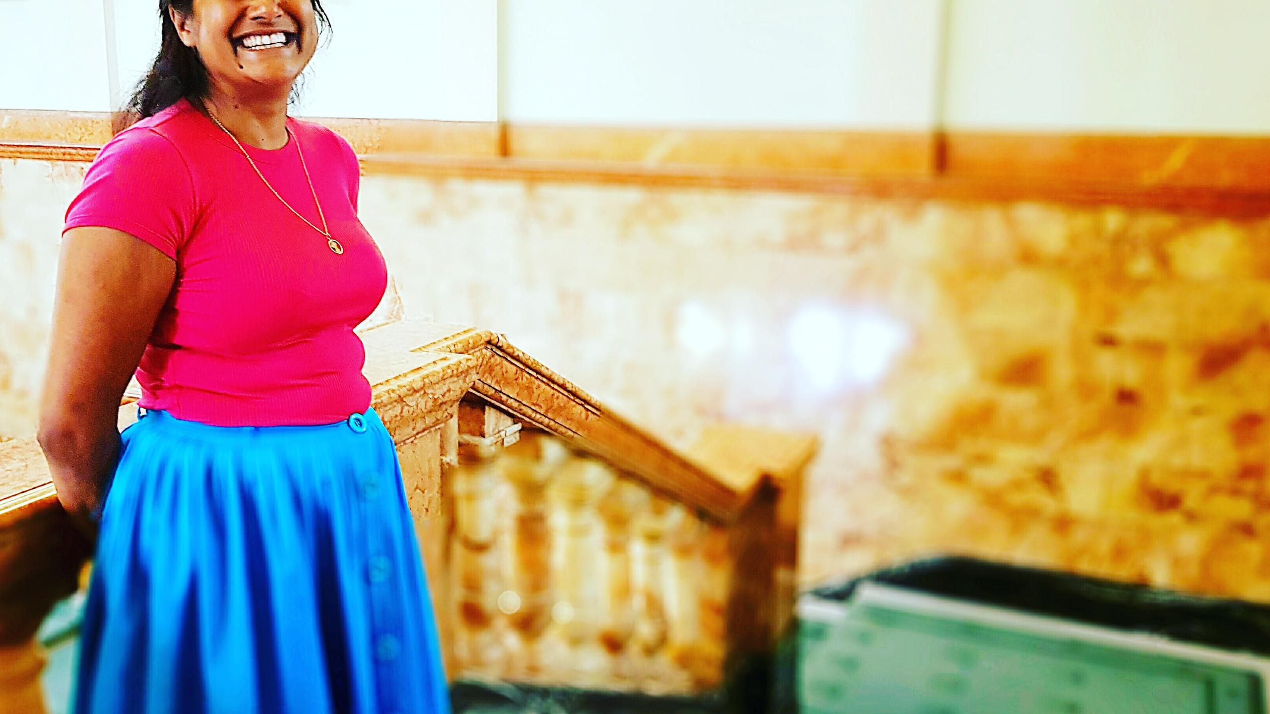 Artist Salina Jane, Guyana