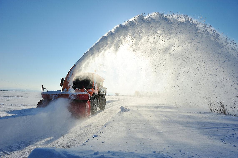 Schneeräumung LKW