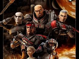"""Novo pôster de """"Star Wars: The Bad Batch"""" é divulgado"""
