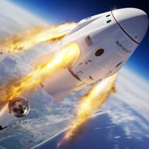 SpaceX lança terceiro voo tripulado nesta quinta-feira, 22 de abril