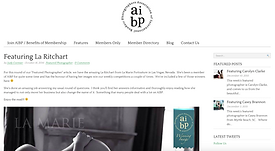 La Marie Boudoir Portraiture Featured By AIBP