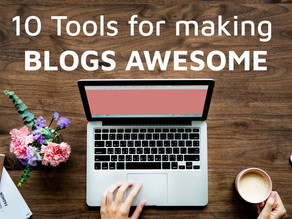 10 useful blogging tools that generate awesome blog topics