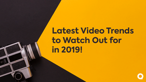 Top 9 Video Trends to Watch out for in 2019!
